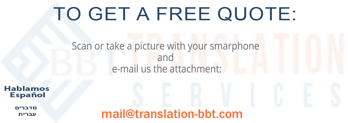 Contact BBT Translation Services